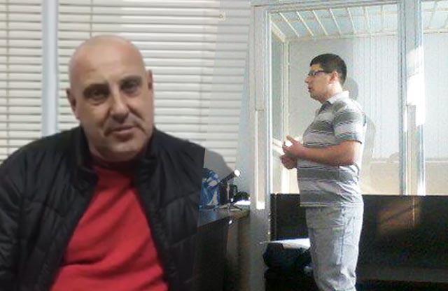 Сергій Ісай (посередник) та Андрій Мельничук (поліцейський)