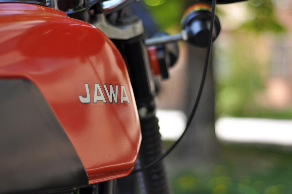 Спортивна класика чеського мотопрому«Jawa». В Радянському Союзу кожен хлопець хотів мати таку.