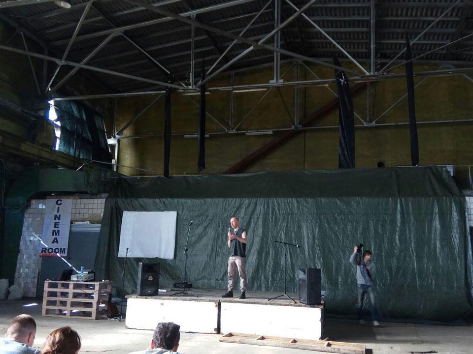 Лекція Гамлета Зіньківського