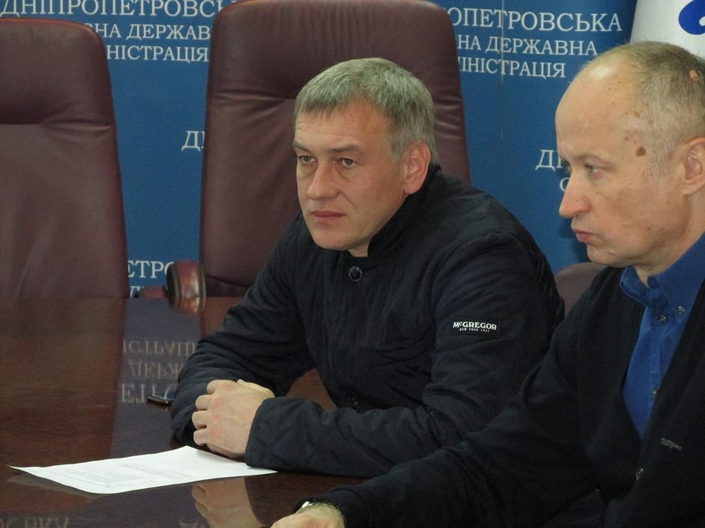 Директор департаменту інформаційної діяльності та комунікацій з громадськістю ДніпроОДА Віталій Маласай