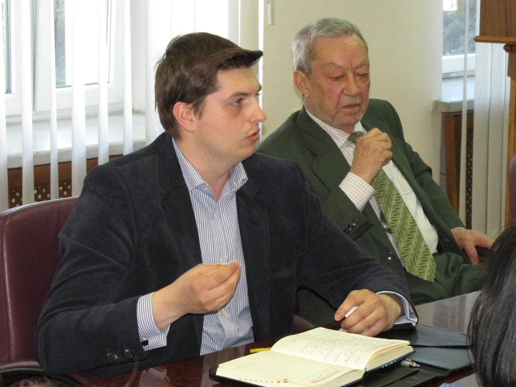 Представник Департаменту освіти і науки ПОДА Сергій Рибалко