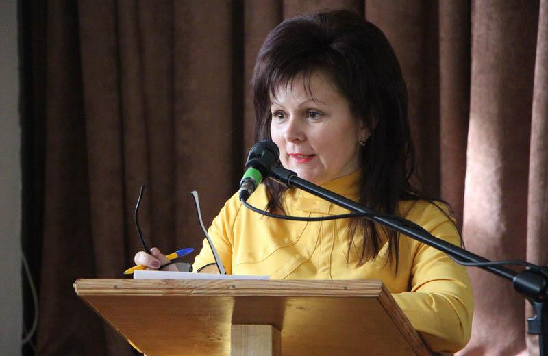 Відкрила збори начальник управління освіти Наталія Дорохова