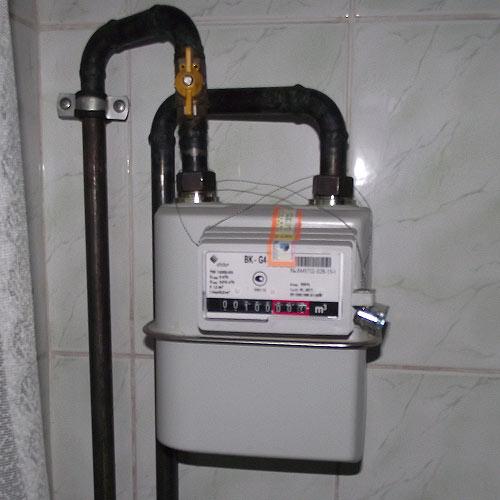Квартирний лічильник газу