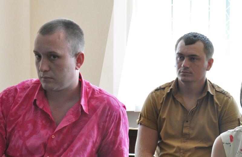 Юрій Брік та Василь Вовк