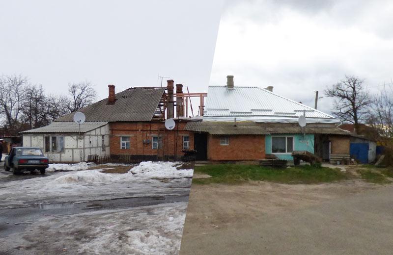Ремонт покрівлі будинку на вул. Рєпіна, 8 у лютому на квітні