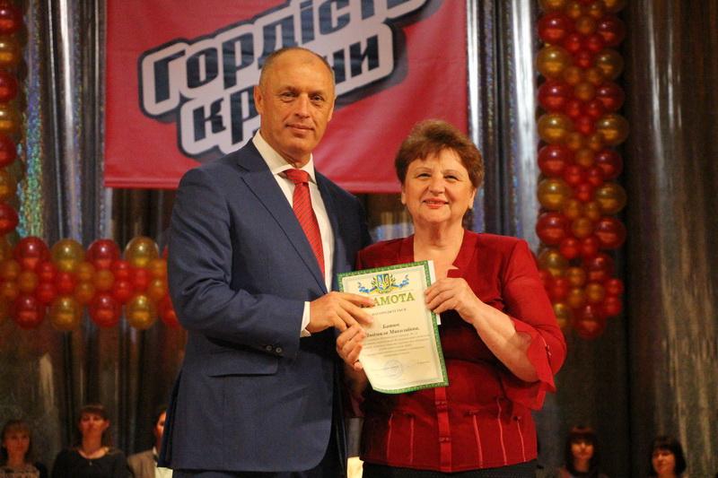 учитель Полтавської гімназії № 13 Людмила Батюк