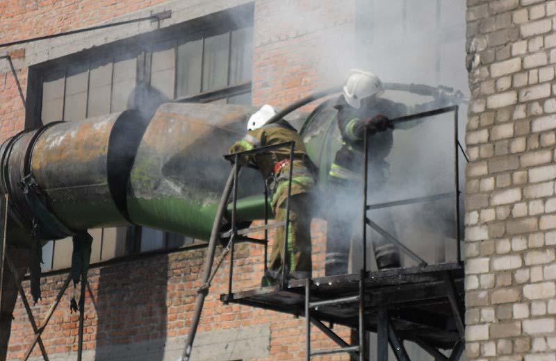 Пожежа в малярному цеху Полтавського турбомеханічного заводу
