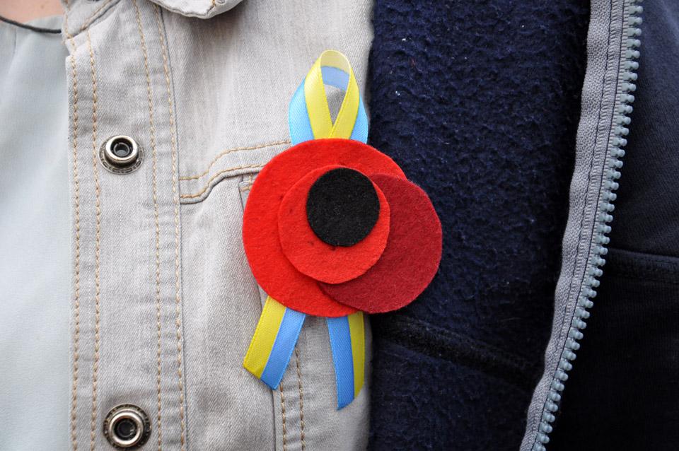 Червоний мак — символжертв військових конфліктів. В Україні з 2014 року це символ Дня пам'яті і примирення.