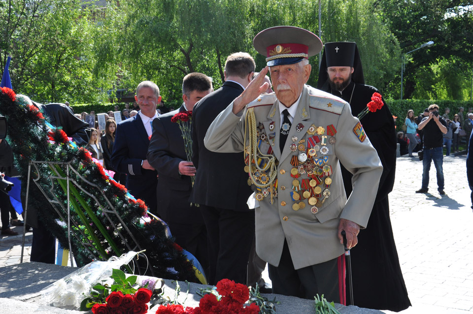 Генерал-майор запасу Борис Лутін. Один з тих, хто звільнив Полтаву і Полтавщину.