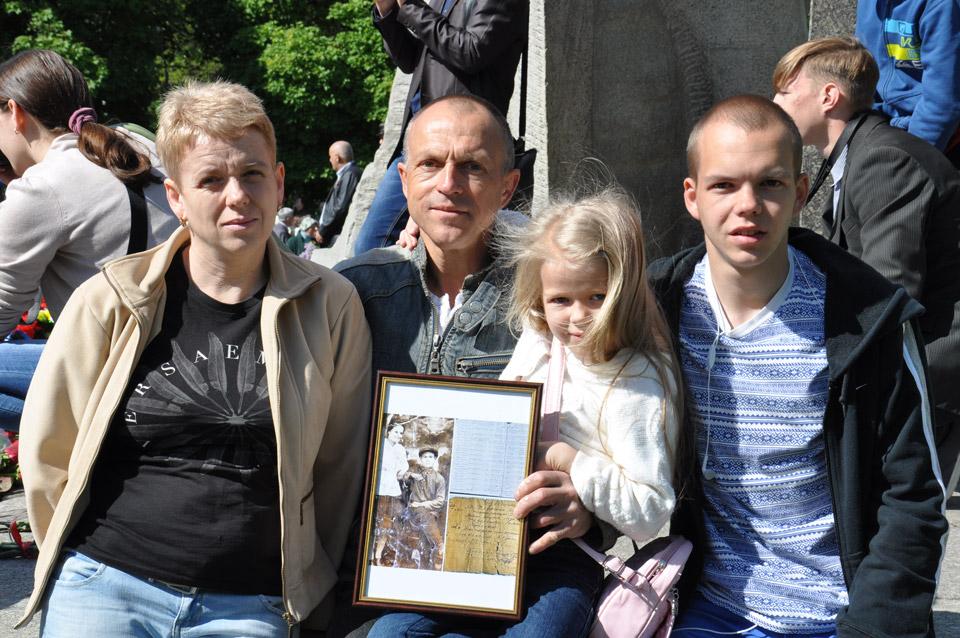 Родина розповіла про свого діда Романа Федоренка. Він пішов на війну із самого початку і не повернувся додому.