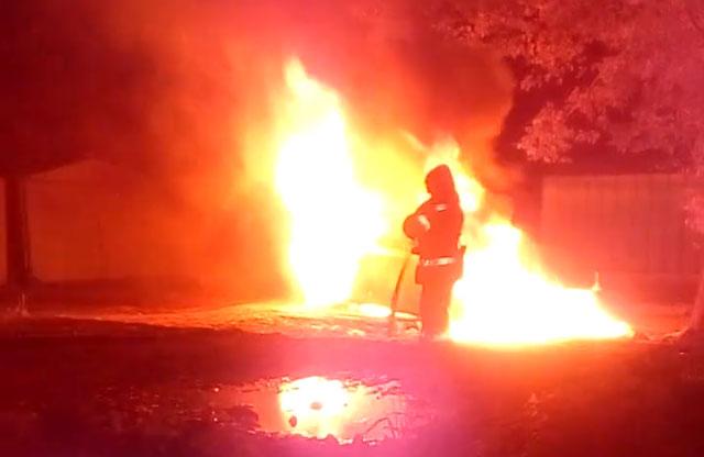Пожежа на вул. Петлюри