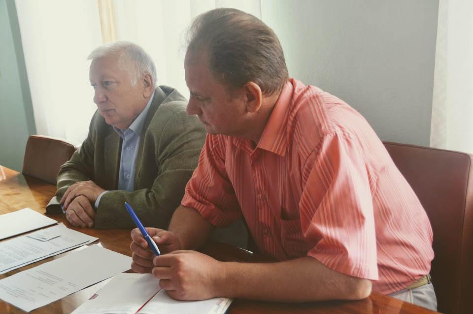 Ілля Чередніченко та Юрій Пасько