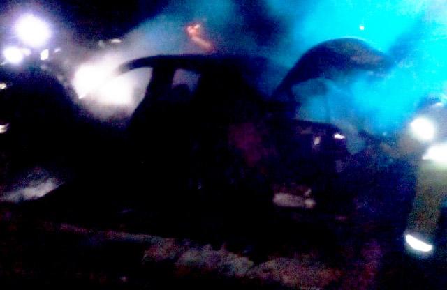 BMW M5 після пожежі