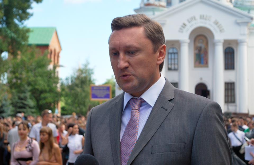 Ректор ПолНТУ Володимир Оніщенко