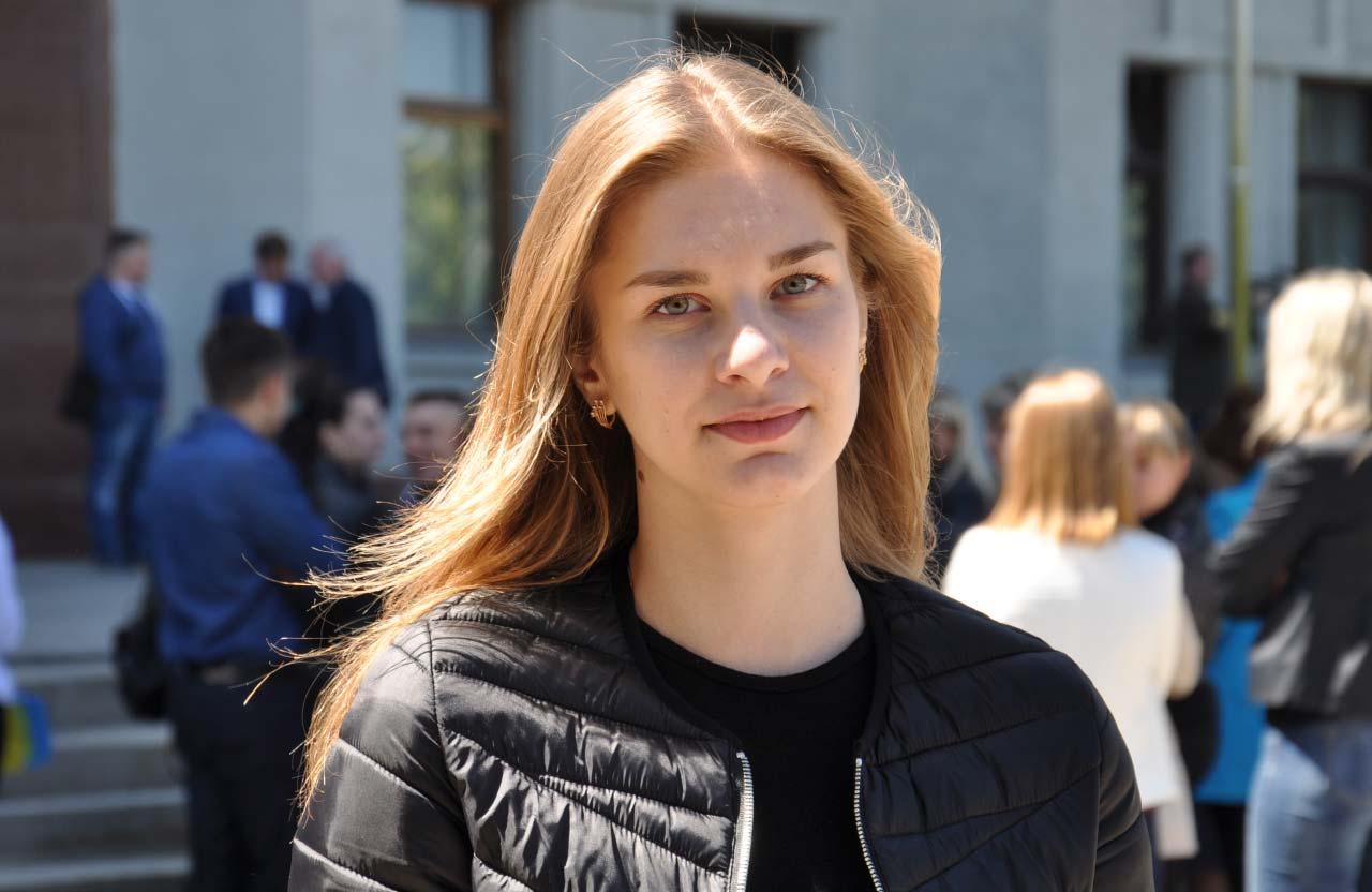 Марина, студентка ПолтНТУ