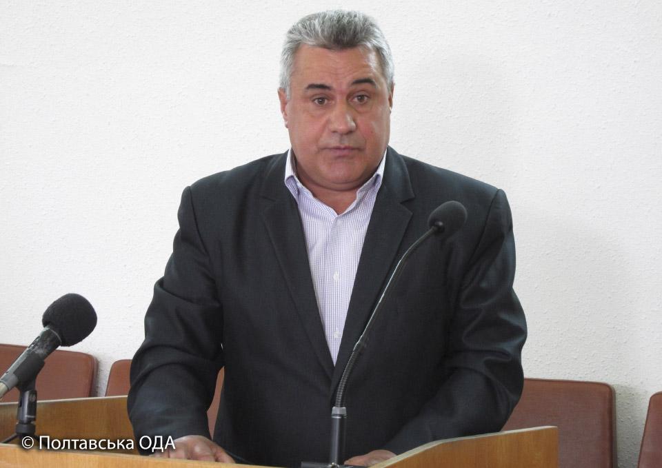 Заступник директора Полтавського інституту свинарства та аргопромислового виробництва Володимир Гангур
