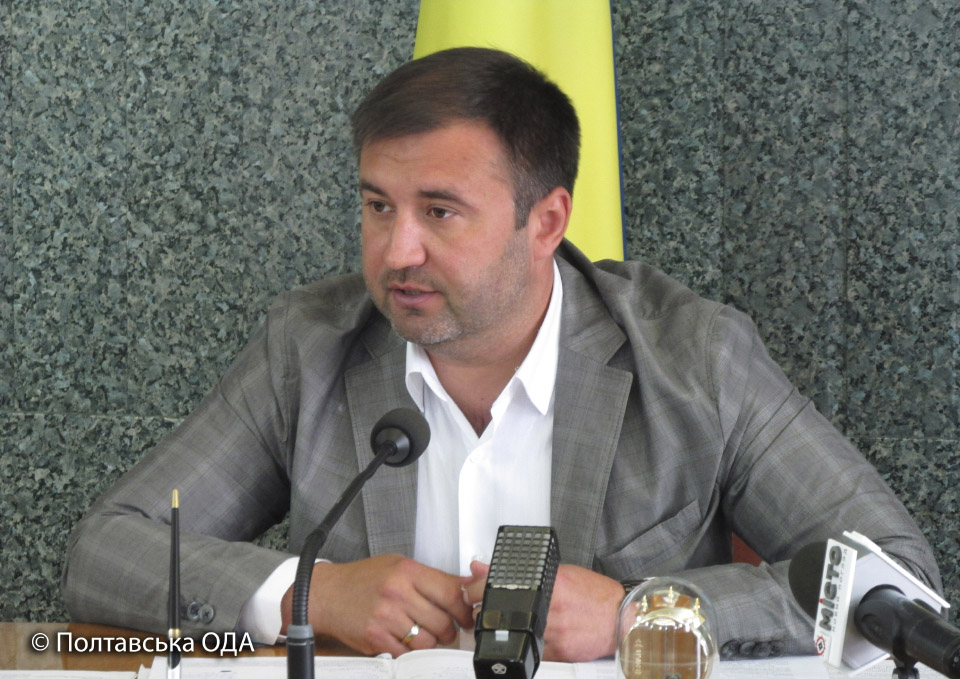 Перший заступник голови Полтавської ОДА Роман Товстий