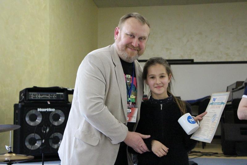 Під час нагородження учасників та переможців конкурсу-фестивалю «Полтавська битва»