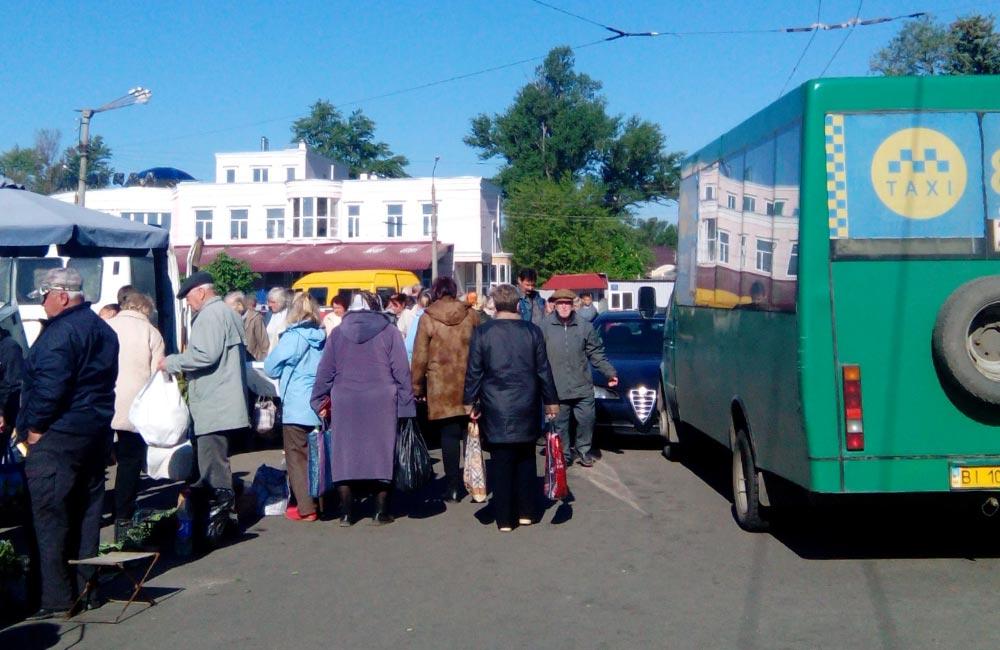 ДТП на площі Слави