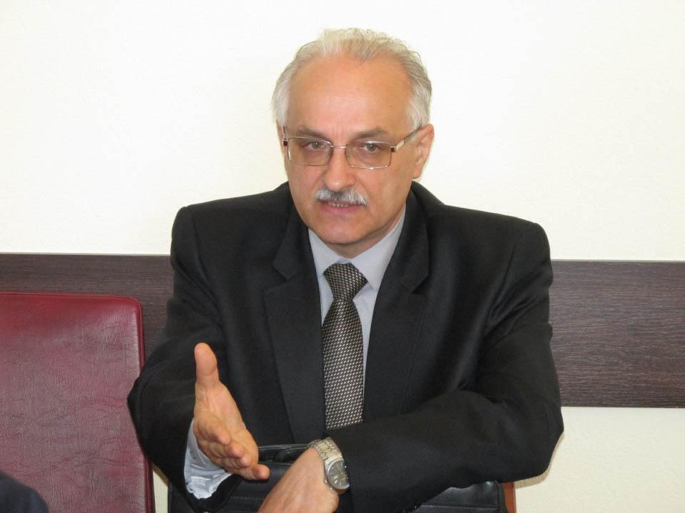 Заступник начальника відділу оповіщення та інформатизації цивільного захисту Олександр Тимошенко