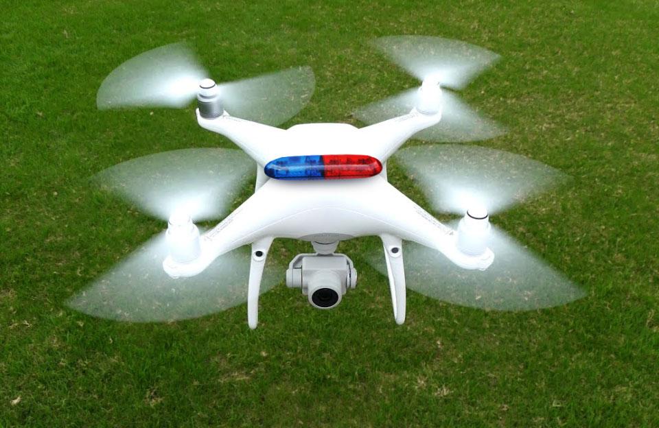 Франківські поліціянти ловитимуть злочинців за допомогою квадрокоптера