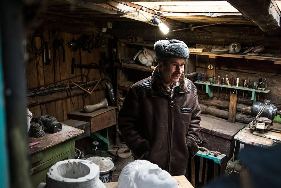 Дядько Валерій — один з героїв проекту на Полтавщині | Фото Ukraїner