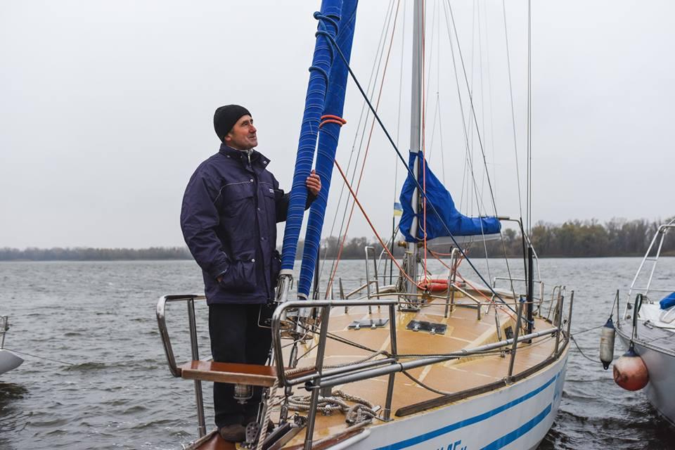 Яхтсмен Василь з Горішніх Плавень | Фото Ukraїner