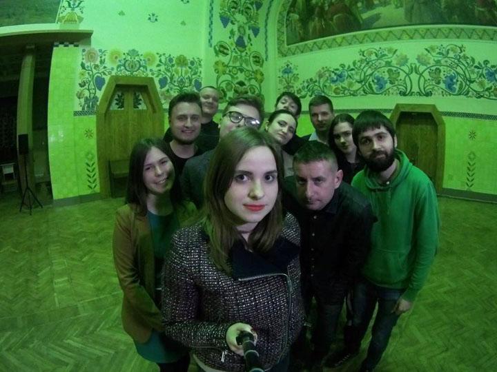 Magnum Opus після організації вечора Сергія Жадана у Полтаві | Фото Катерини Кролевської