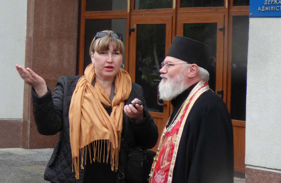 Наталія Очкань та Миколай Храпач
