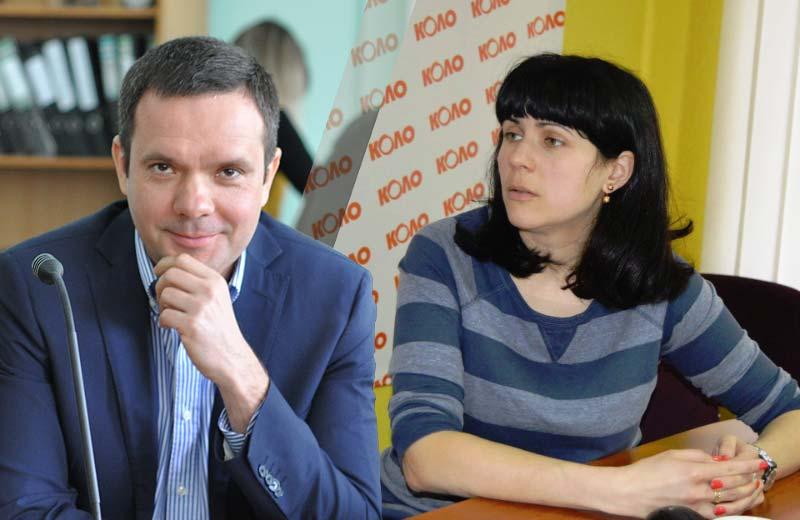 Михайло Шевченко та Тетяна Цирульник