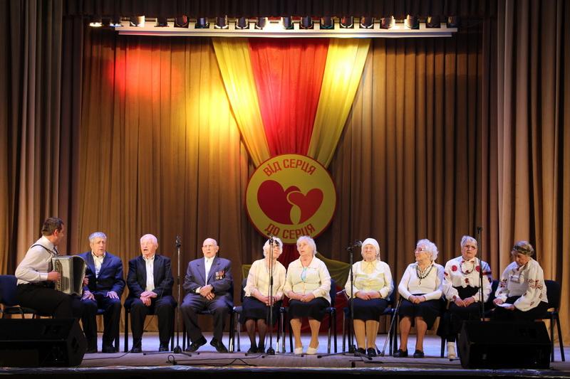 Хор ветеранів Горбанівського геріатричного пансіонату ветеранів війни та праці