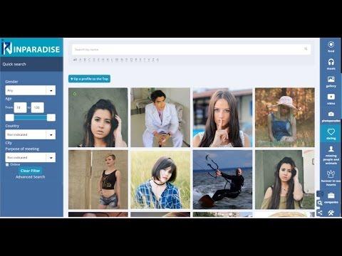 Презентація нової соціальної мережі для спілкування, продажу та бізнесу inparadise.info