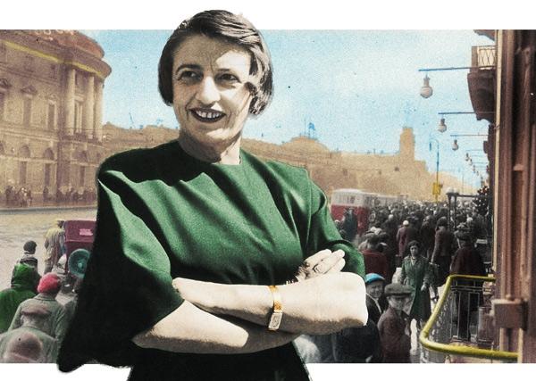 Американська письменниця Анй Ренд