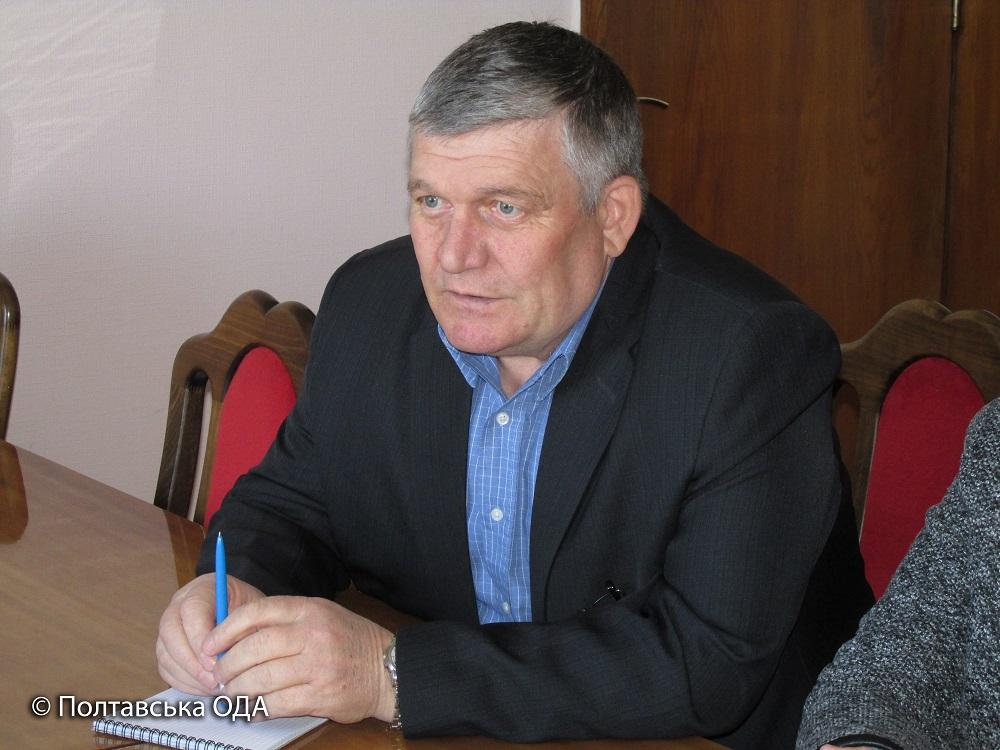 Завідуючий організаційно-методичним відділом Національного комітету Товариства Червоного Хреста України Леонід Бутевич