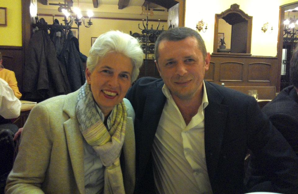Василь Перепелиця та бургомістр Дюссельдорфа Dr. Strack-Zimmermann (заступник голови FDP)