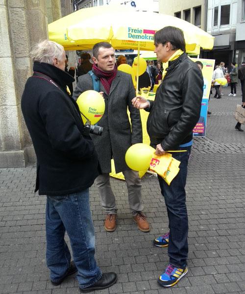 ВП обговорює з представниками FDP події на Сході України
