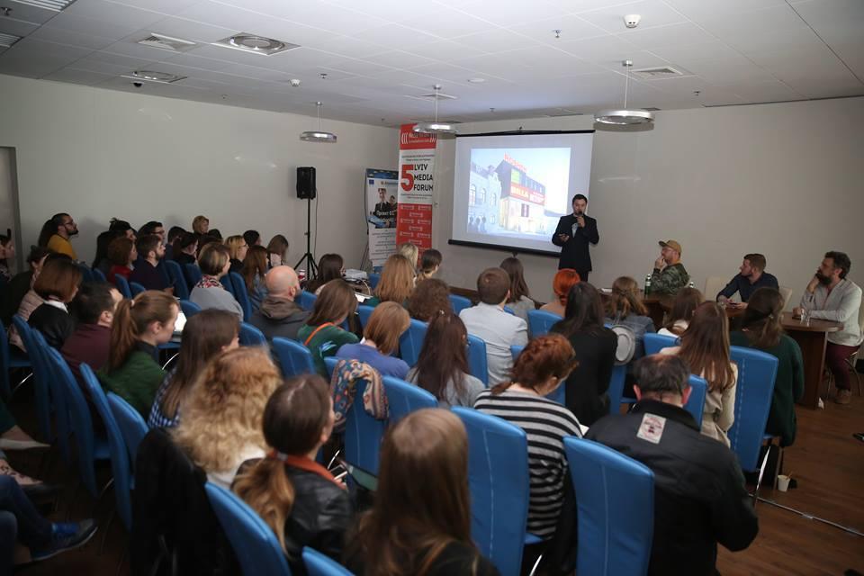 Панель про культурні медіа (фото Lviv Media Forum)
