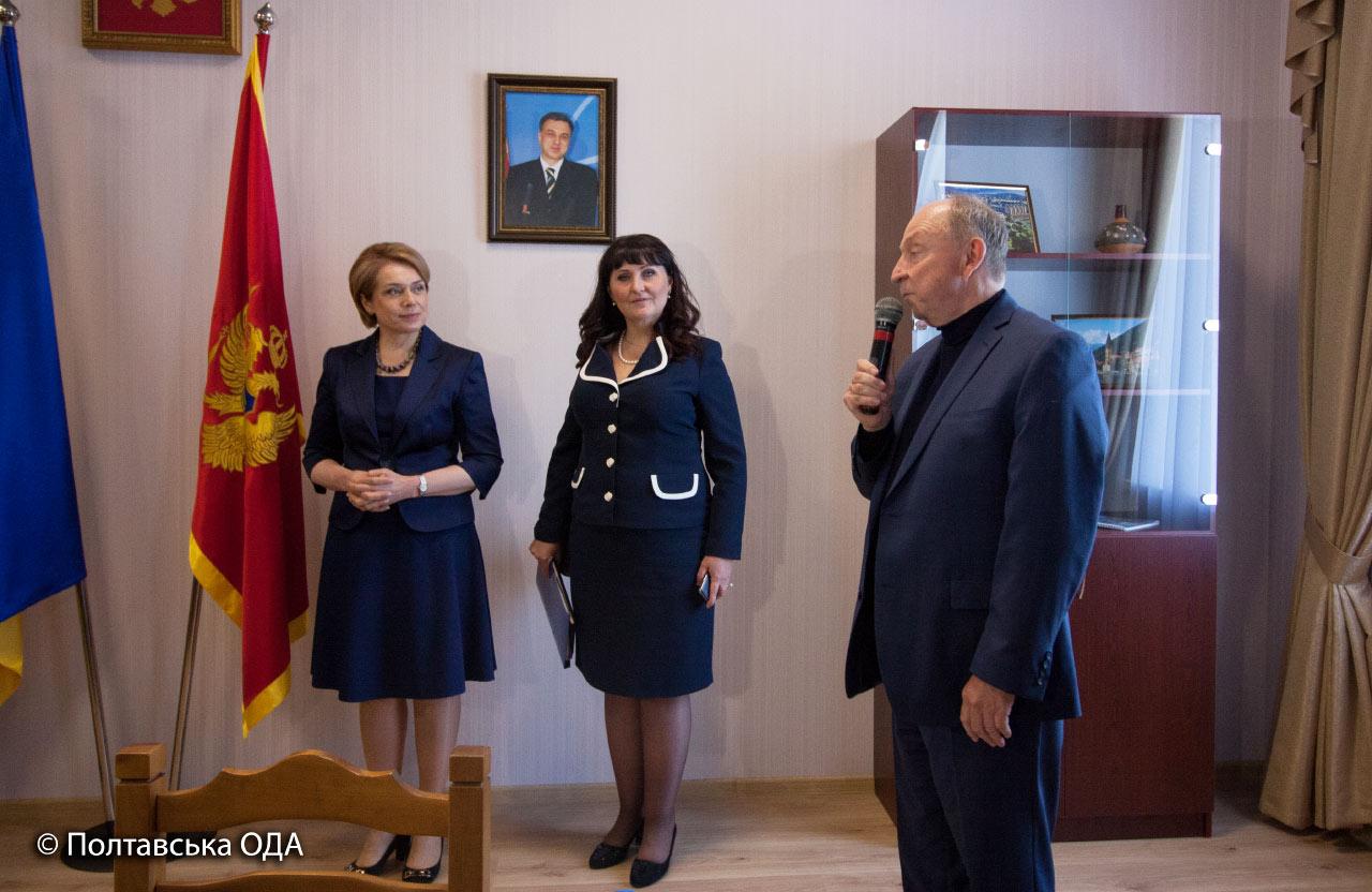 Президент Малої академії наук України Почесний консул Чорногорії в Україні Станіслав Довгий