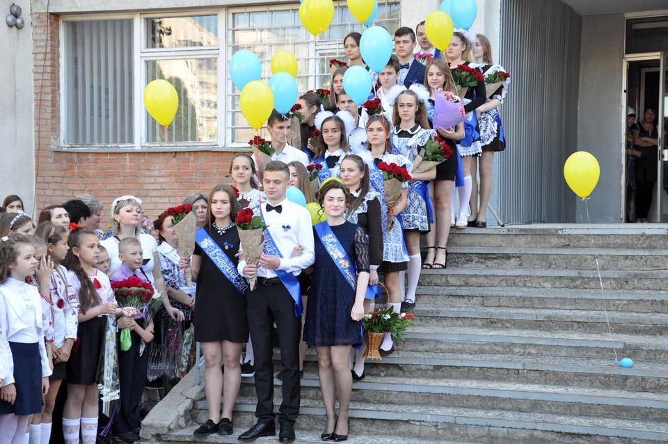 Цього року в школі №37 випускається лише один клас — 11-а. Всього 19 учнів.