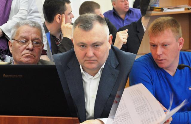 Микола Шимка, Владислав Кива та Дмитро Батигін