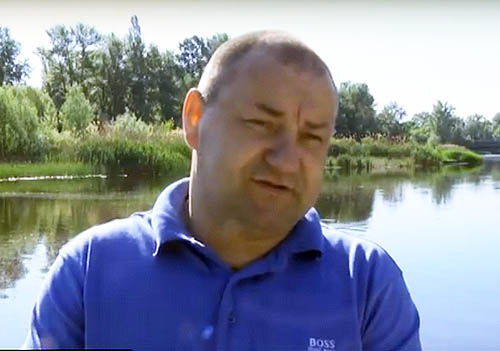 Директор комунальної установи «Полтавська міська рятувально-водолазна служба» Євген Савчук