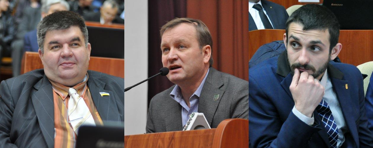 Руслан Рогов, Сергій Соловей та Ігор Скляр