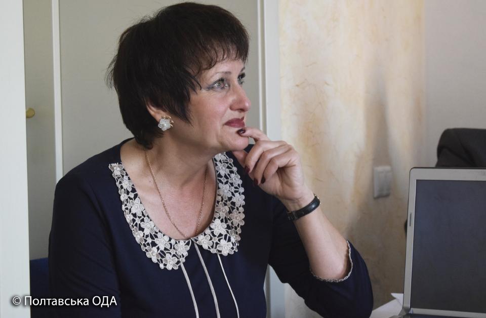 Світлана Андрієнко, директор Полтавської обласної сільськогосподарської дорадчої служби