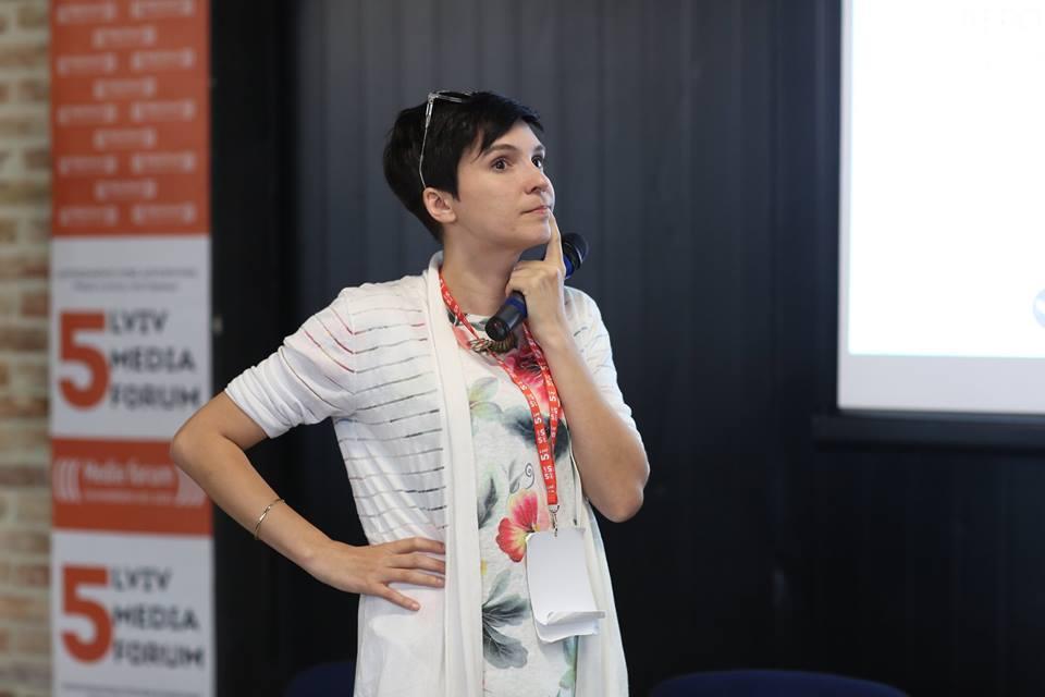 Катажина Квятковська-Москалевич (фото — Lviv Media Forum)