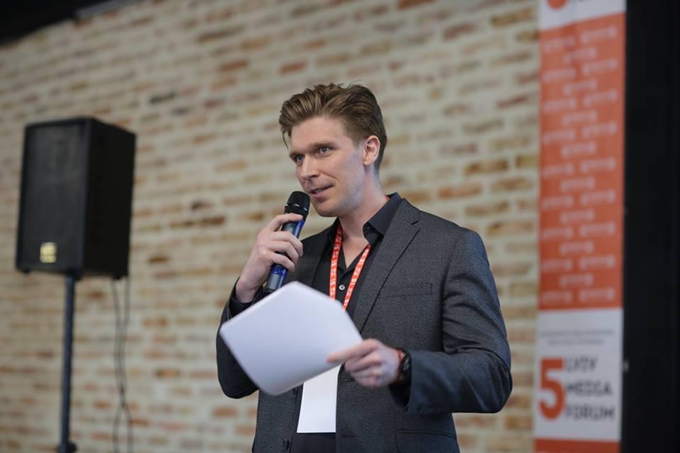 Нолан Петерсон (фото — Lviv Media Forum)