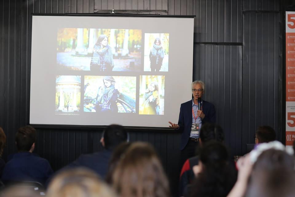 Денніс Чемберлін (фото — Lviv Media Forum)