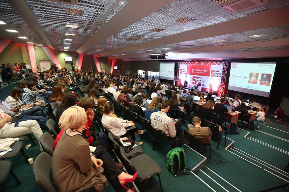 Фото — Lviv Media Forum