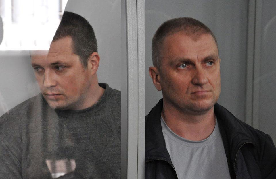 Євгеній Усенко та Анатолій Прядко