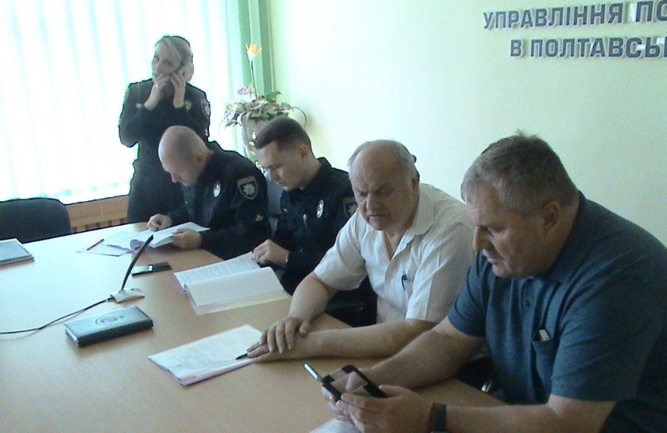 Олег Новаковський, Євген Яковенко, Михайло Міщенко та Іван Сидоренко