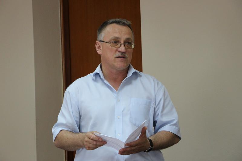 Начальник управління капітального будівництва Полтавського міськвиконкому Володимир Годня
